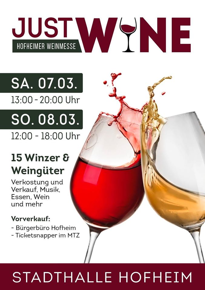 Just wine Plakat